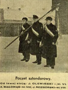 Poczet sztandarowy z 1933 r.
