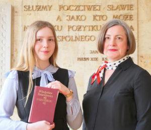 Anna Skowrońska i mgr Elżbieta Górecka
